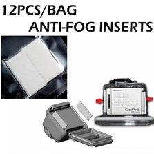 12 PCS ANTI FOG SET för GoPro KAMERA SET PAKET MOT FUKT